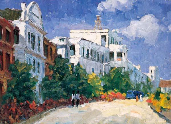 油画风景写生既体现了艺术家们对自然的欣赏,又体现了艺术家们对
